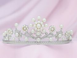2002 プリンセス・ガーランド スタイル(当社オリジナル製品) ブライダルティアラ