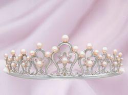 2003 プリンセス・ガーランド スタイル(当社オリジナル製品) ブライダルティアラ