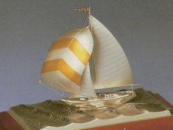 銀製品 ヨット