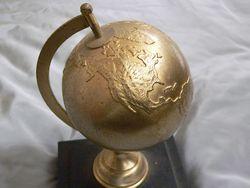 合金製 地球儀