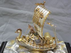 銀製品 宝船
