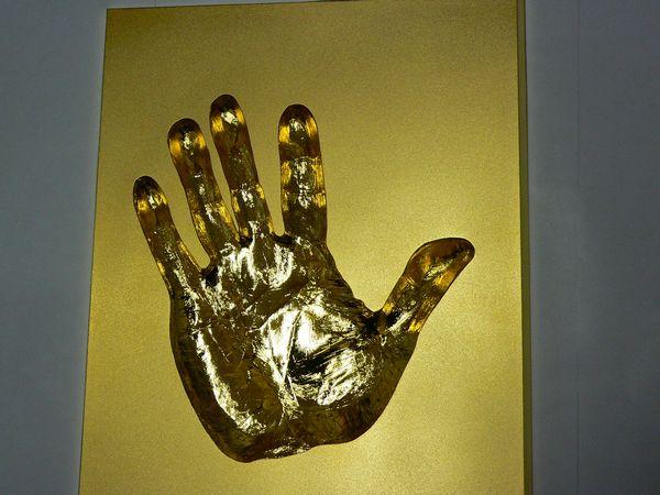 純金 手形